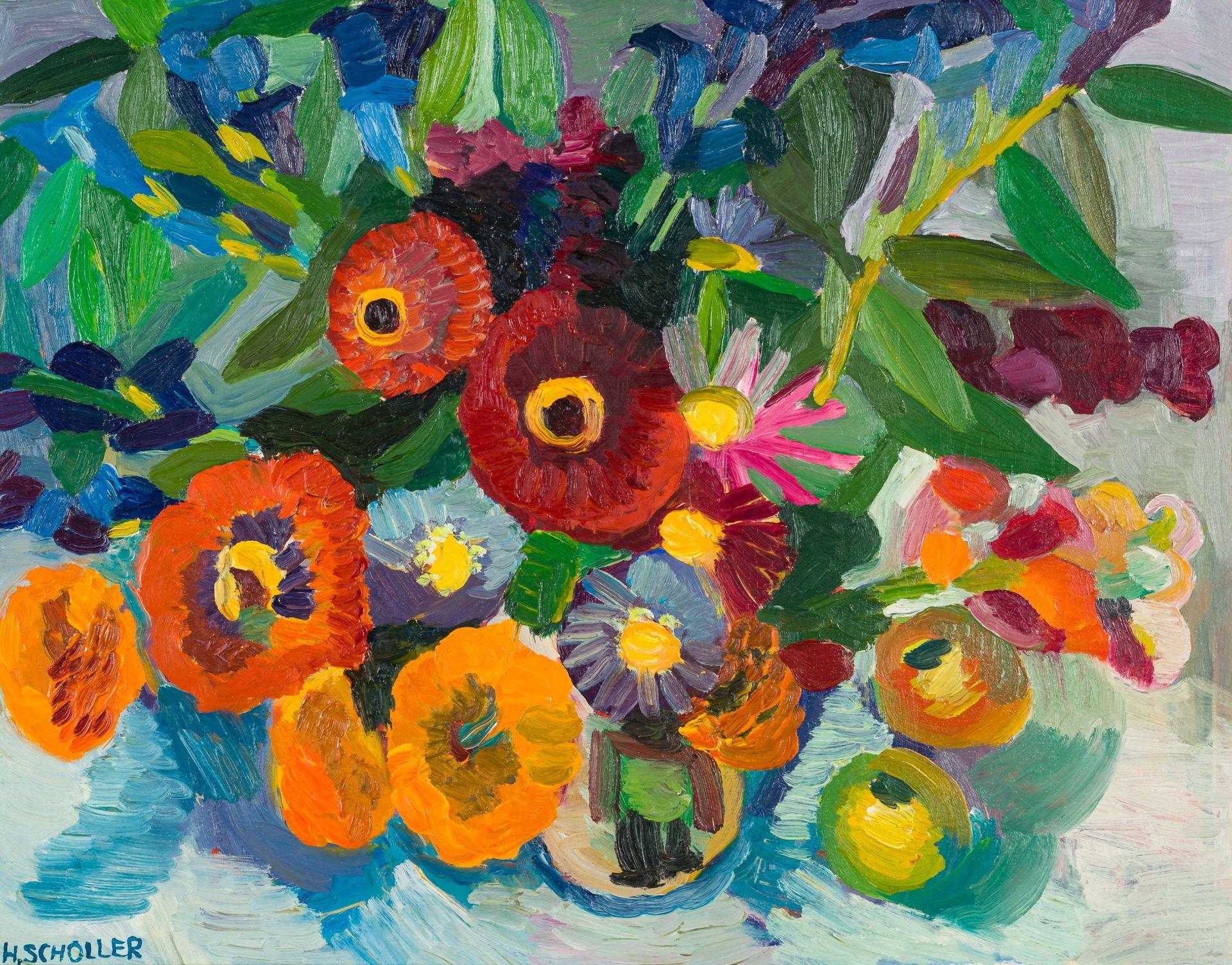 Helga Scholler-Floral Still Life