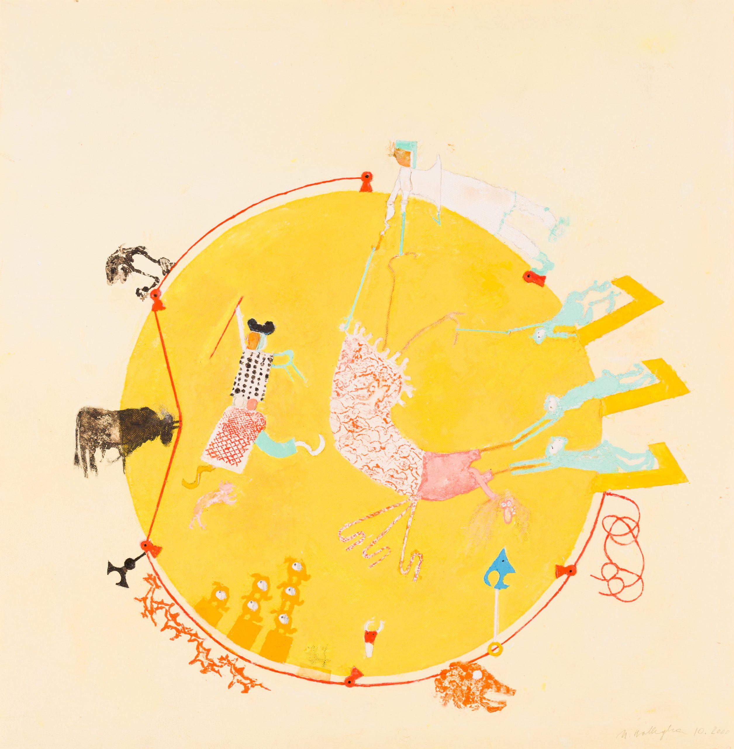 Margarethe Hollegha-Untitled