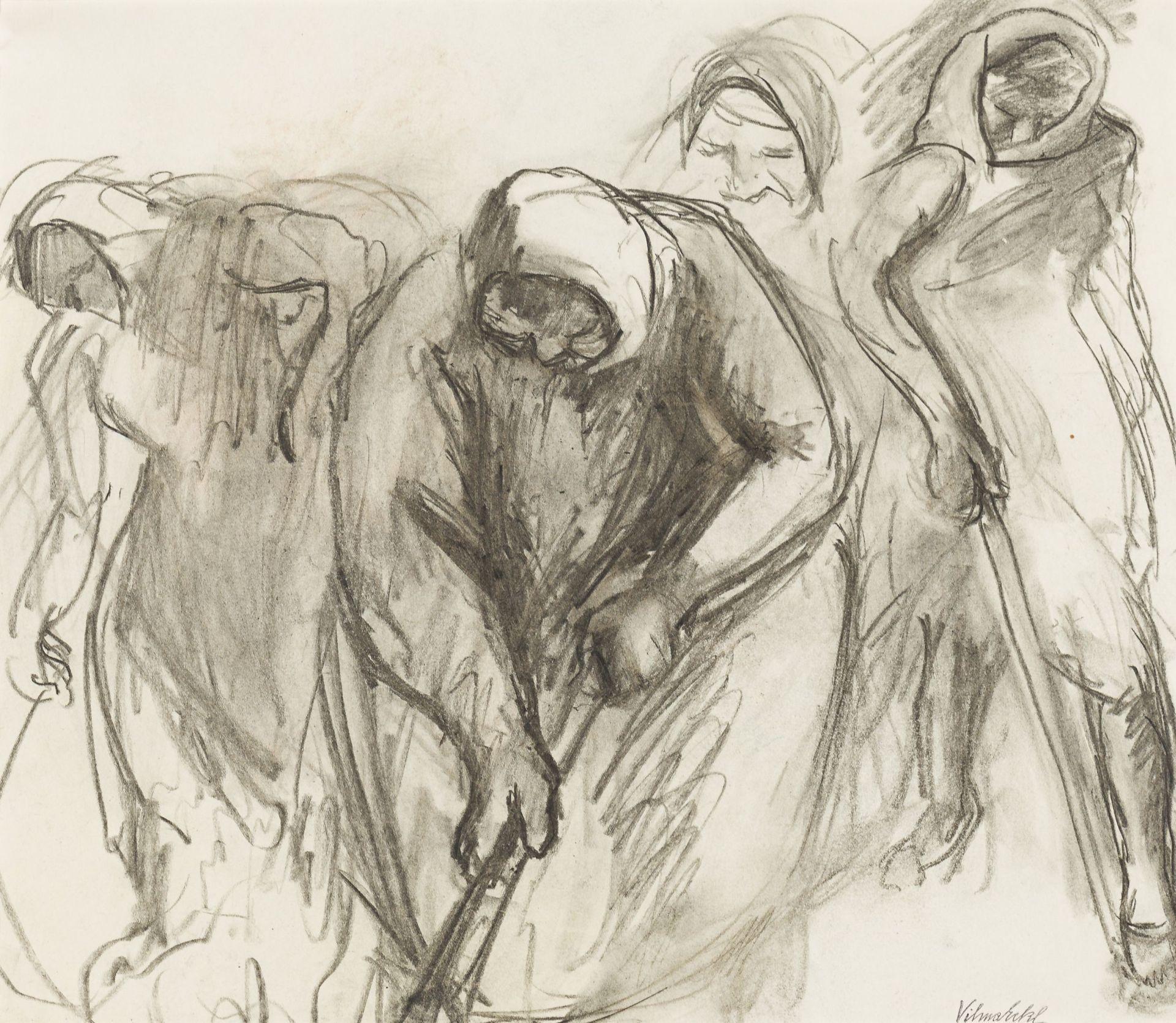 Vilma Eckl-Transylvanian women plow