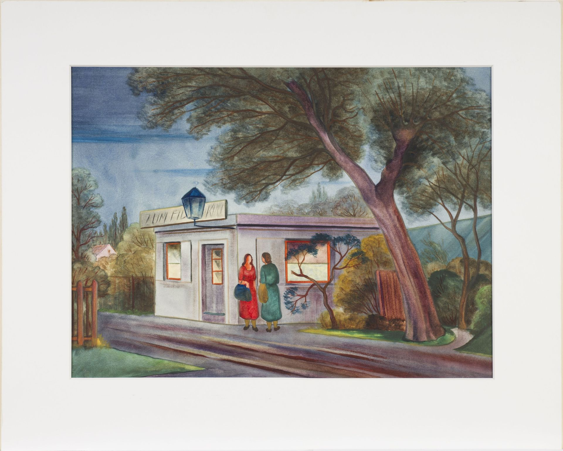 Christian Arnold-At the Bus Shelter