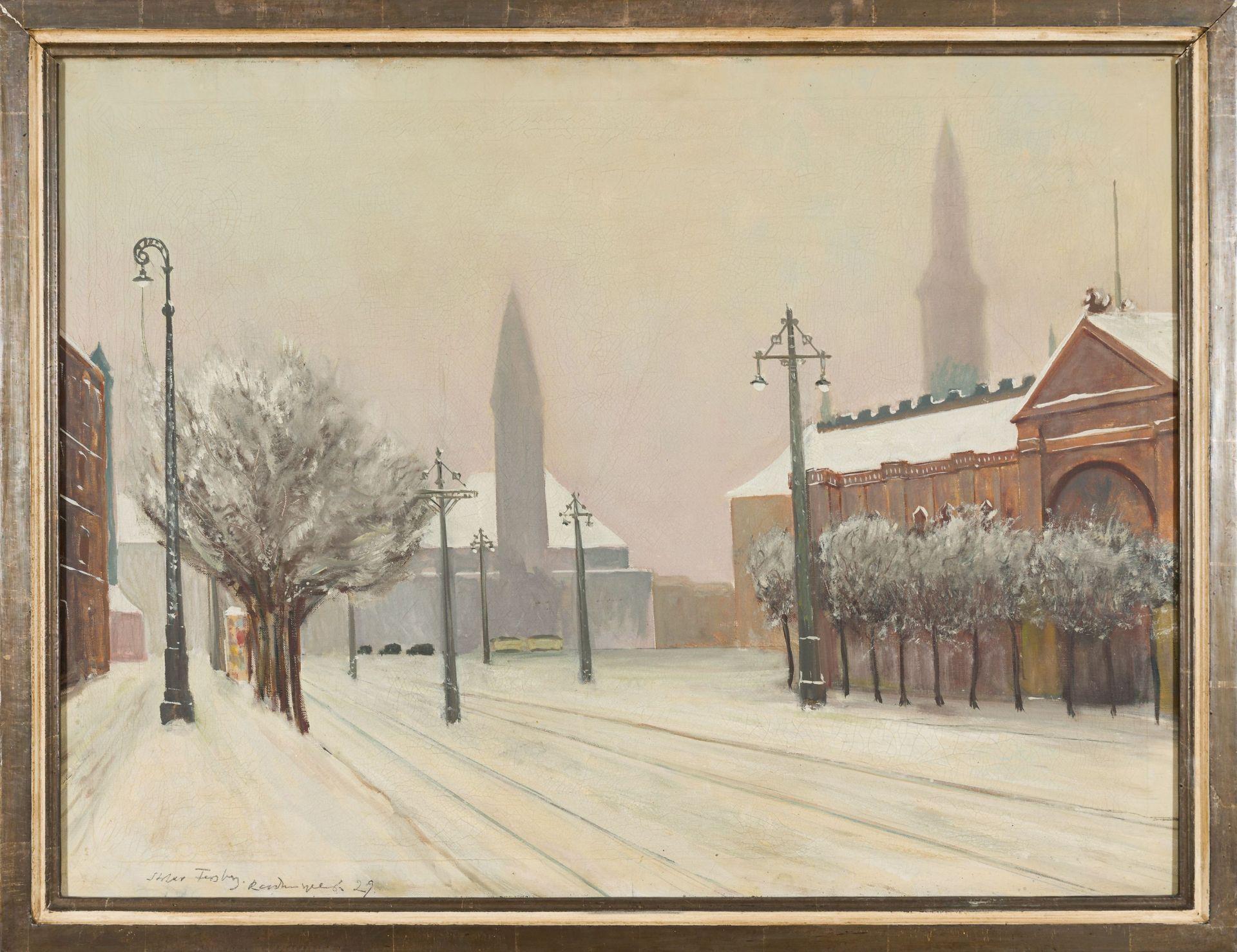 Fersberg (?)-Snowy Road