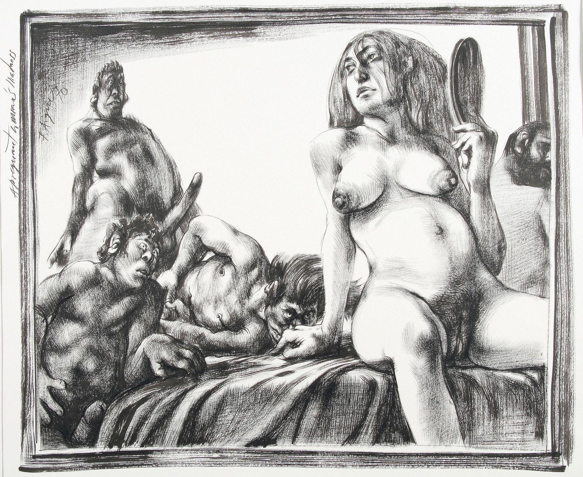 Fritz Aigner-A pregnant woman's madness I.
