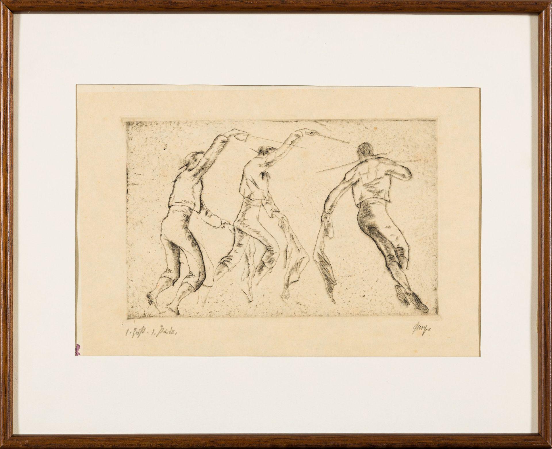 Willi Geiger-Three Toreros