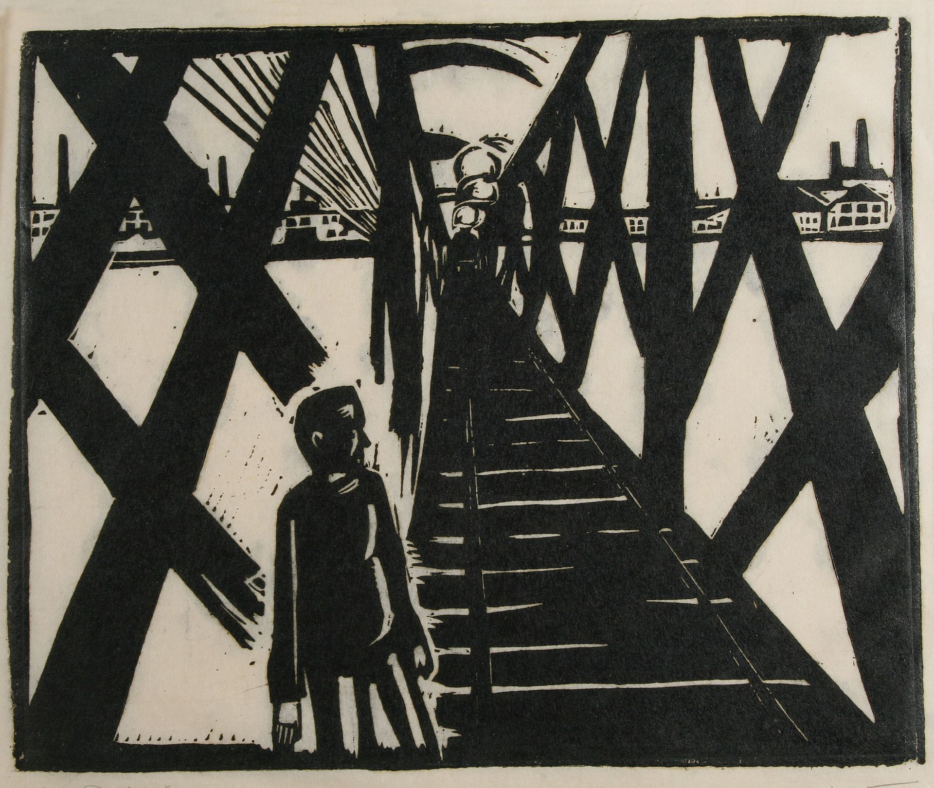 Otto Lange-On the bridge