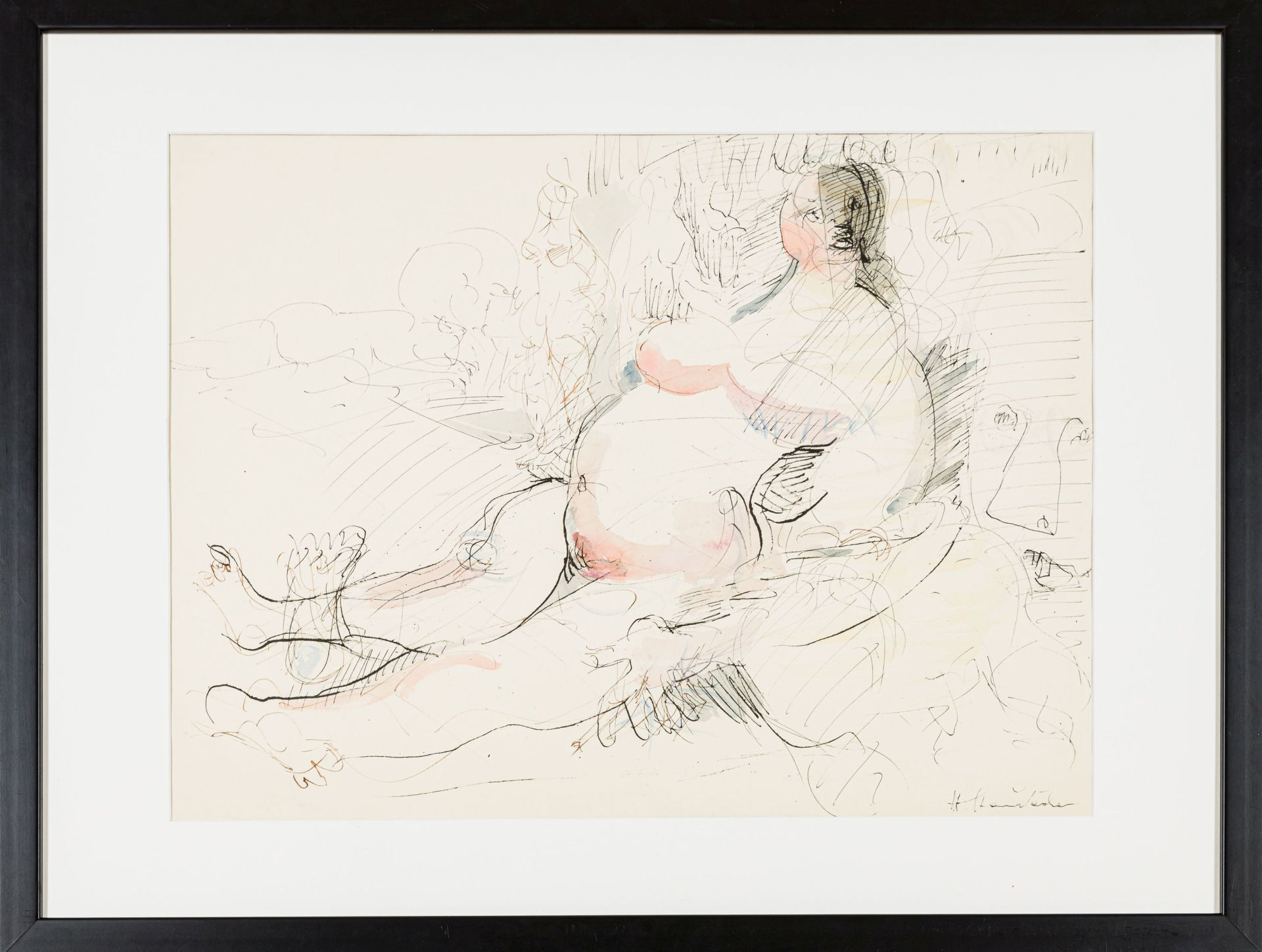 Hans Staudacher-Fat lady