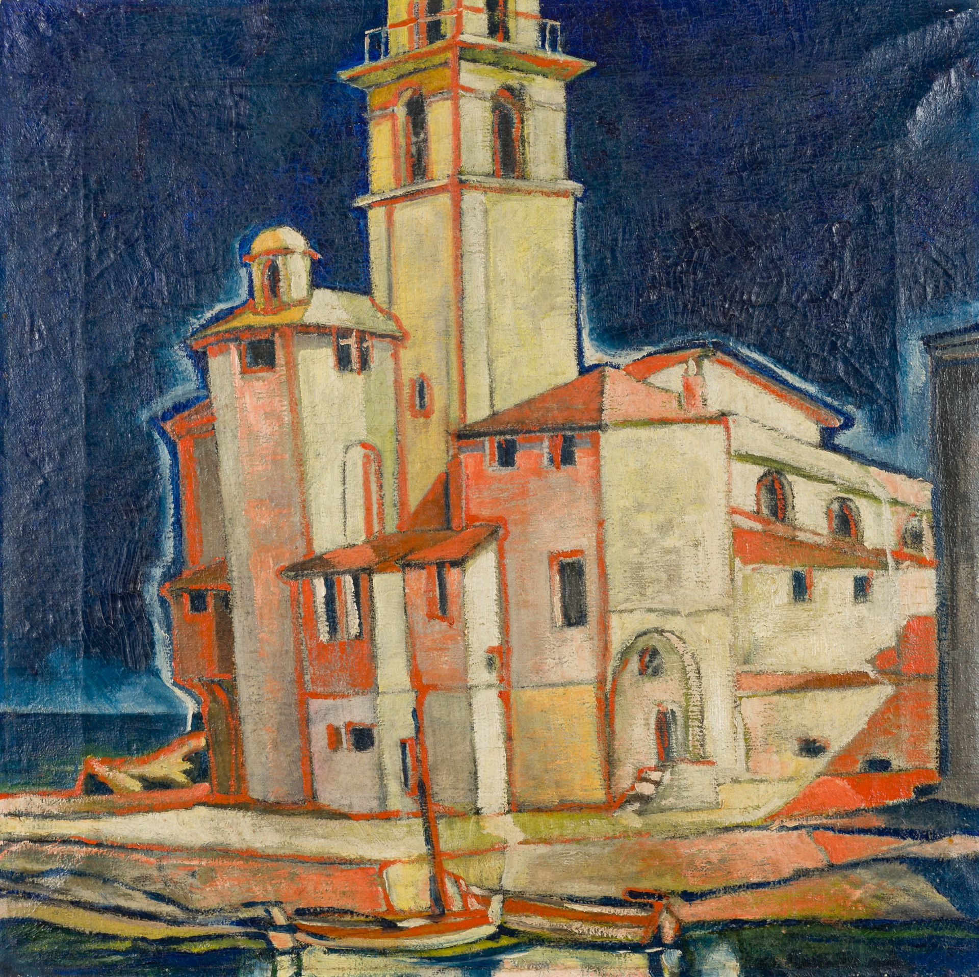 Gronin-Curch at the Coast