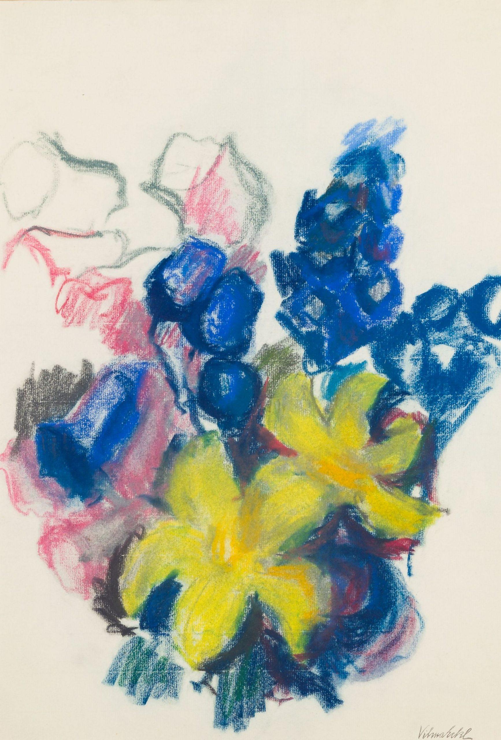 Vilma Eckl-Flower piece