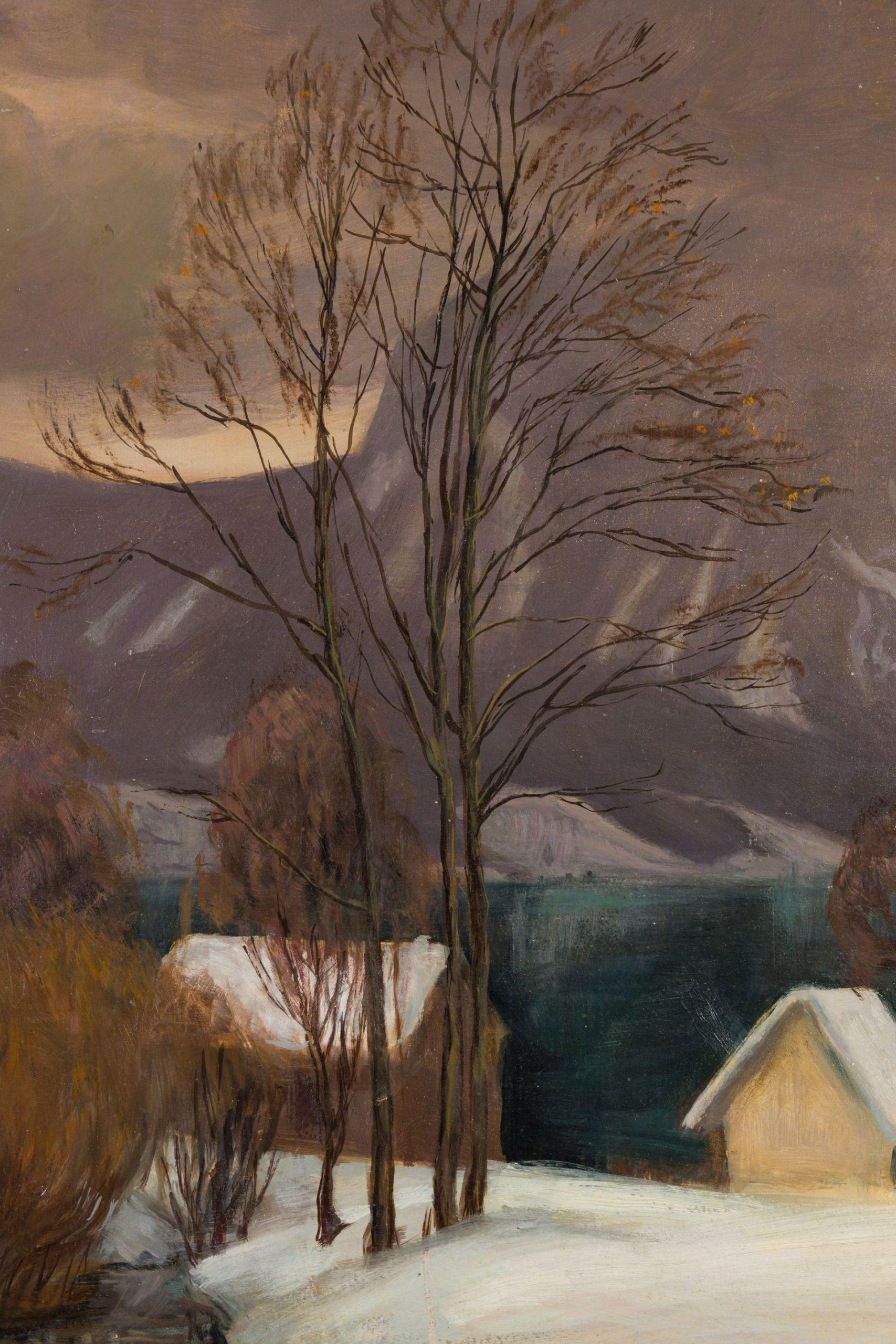 Hugo Noske-View of an alpine Lake
