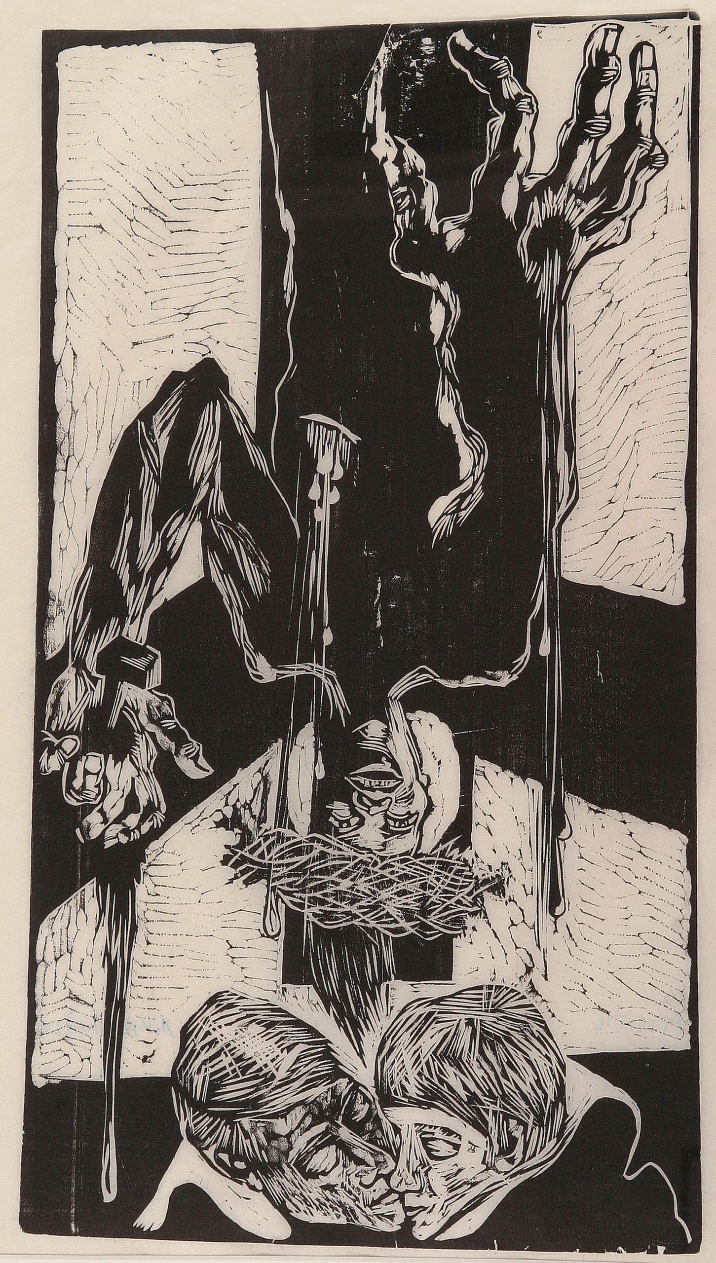 Auguste Kronheim-Lovers under the cross
