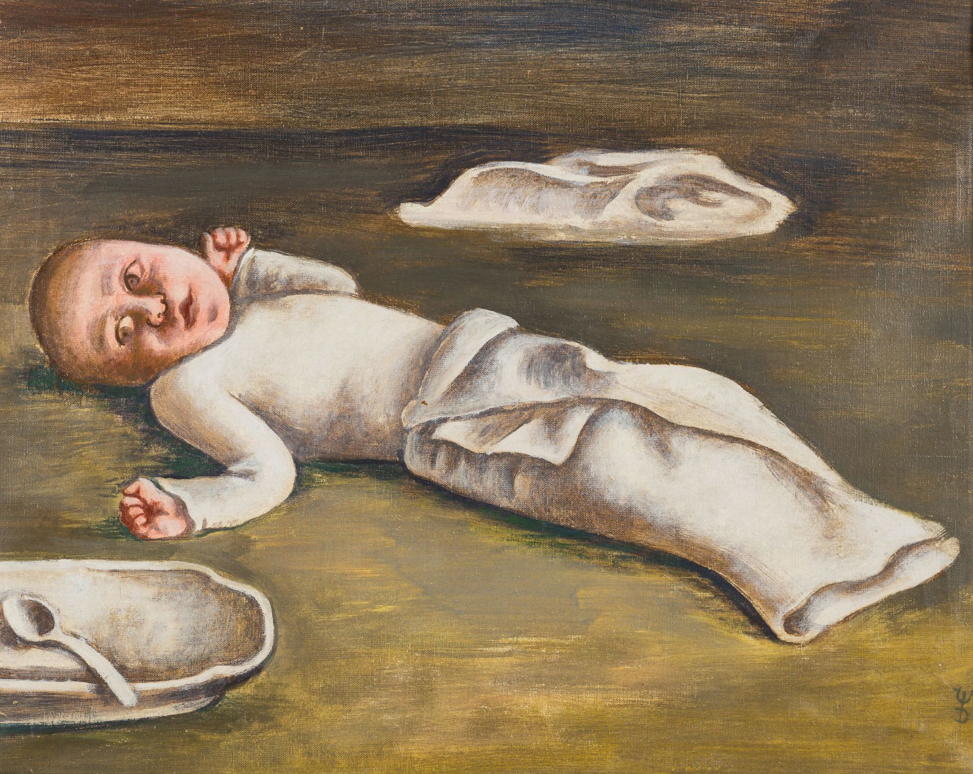 August Wilhelm Dressler-Infant