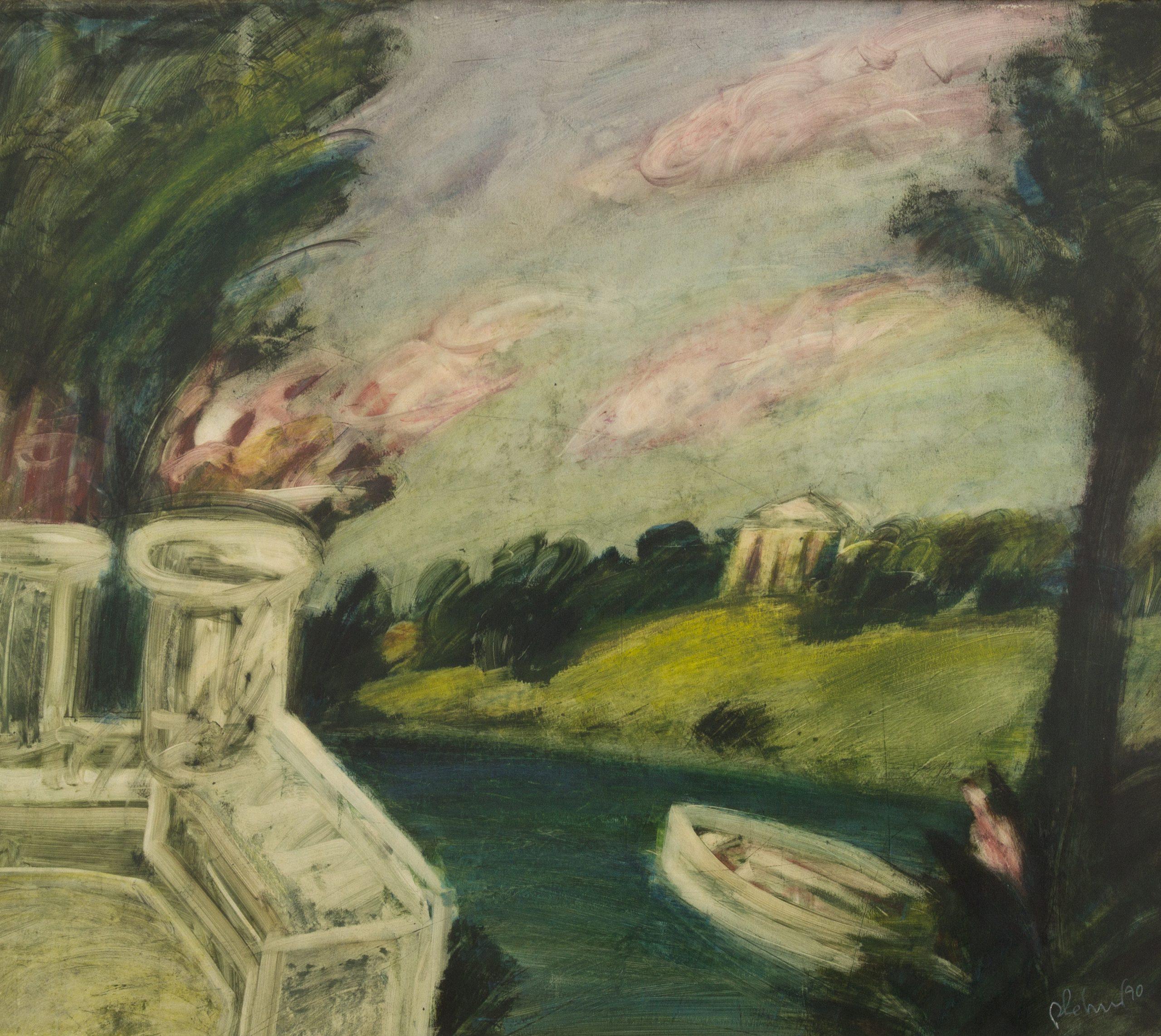 Robert Lehner-River landscape