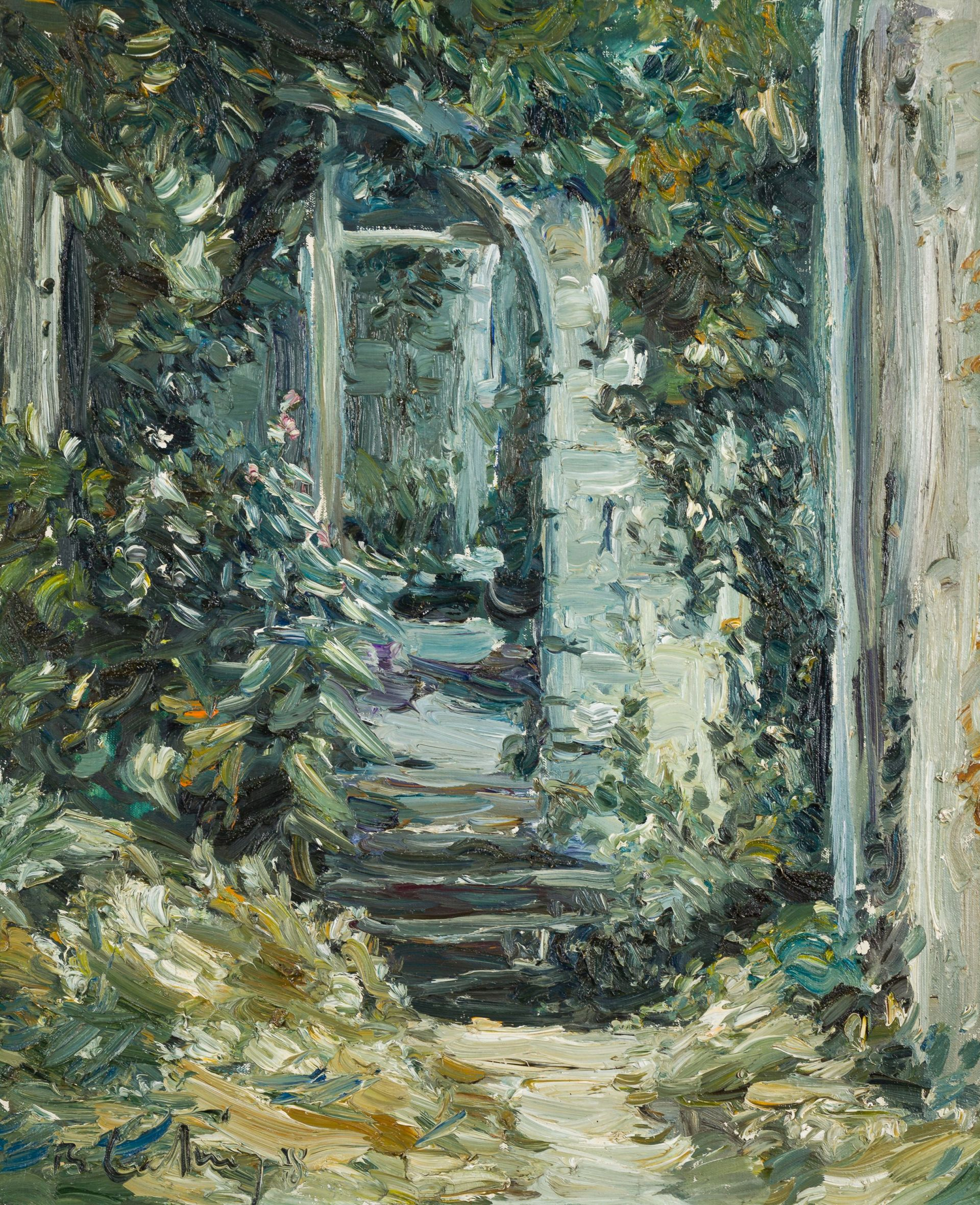 Roland Ladwig-Provence, stairs in Lacoste