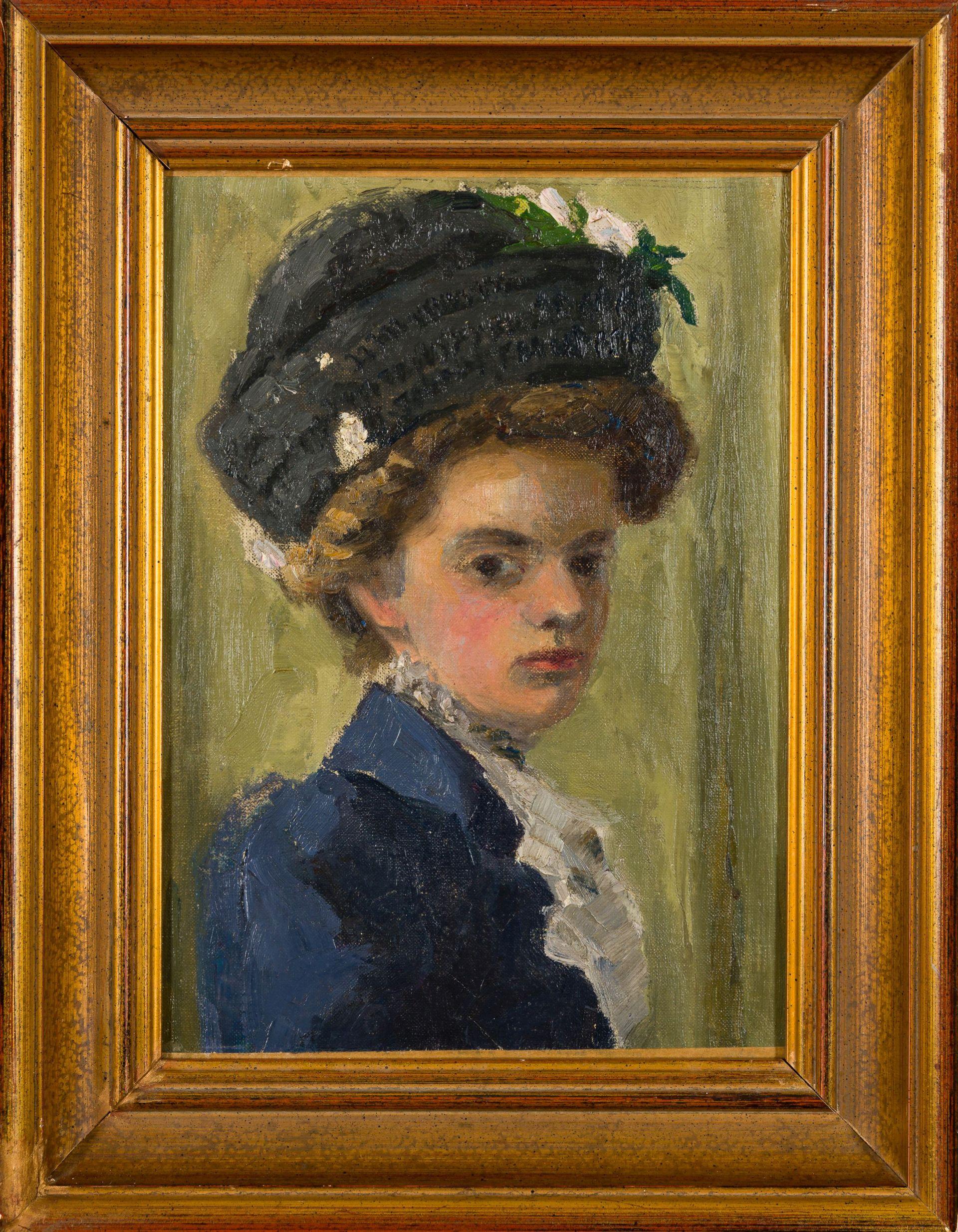 Emil von Gerliczy-Portrait of a Lady