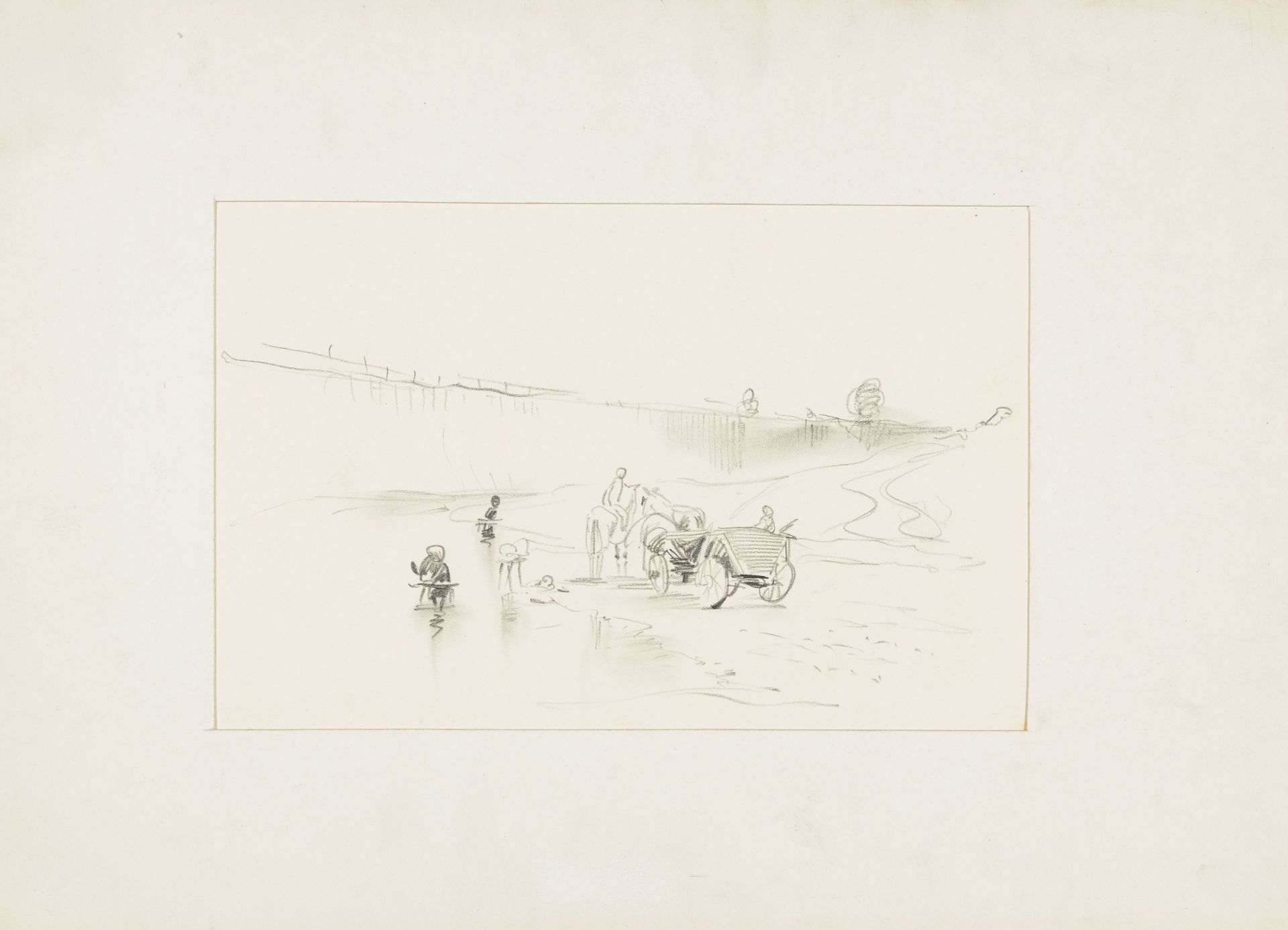 Georg Mayer-Marton-Landscape with a Carriage