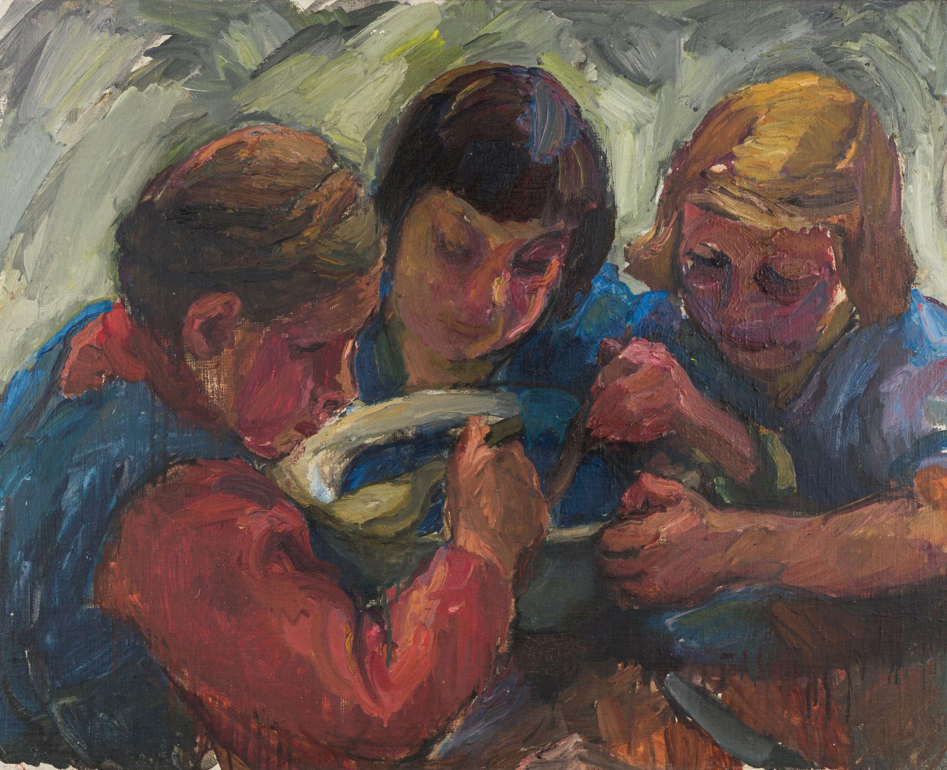 Vilma Eckl-Peasant Girls
