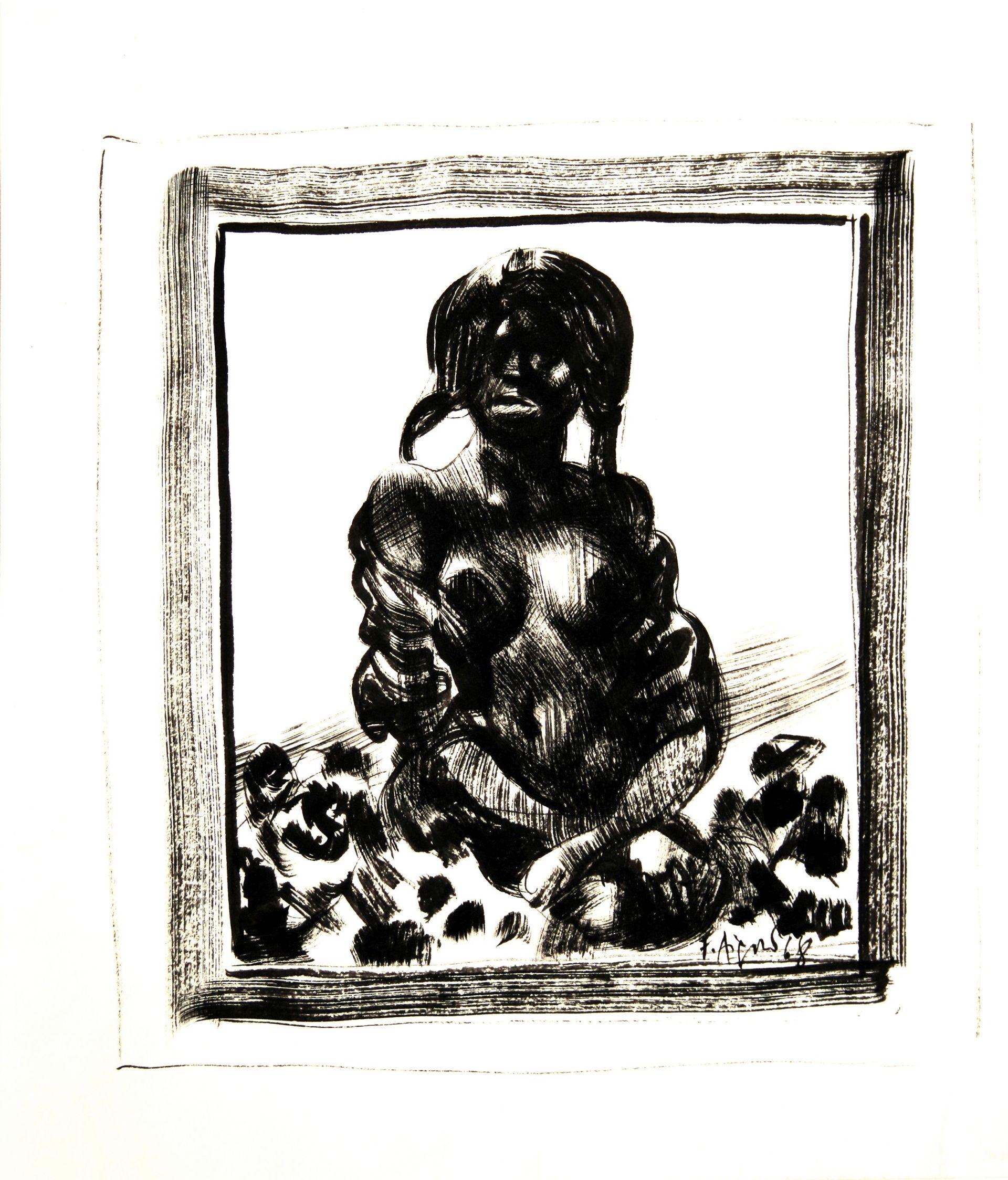 Fritz Aigner-Scantily clad Lady