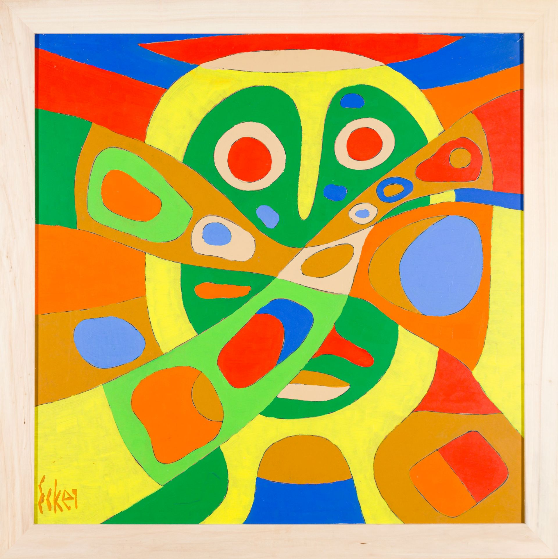 Franz Ecker-Abstraction