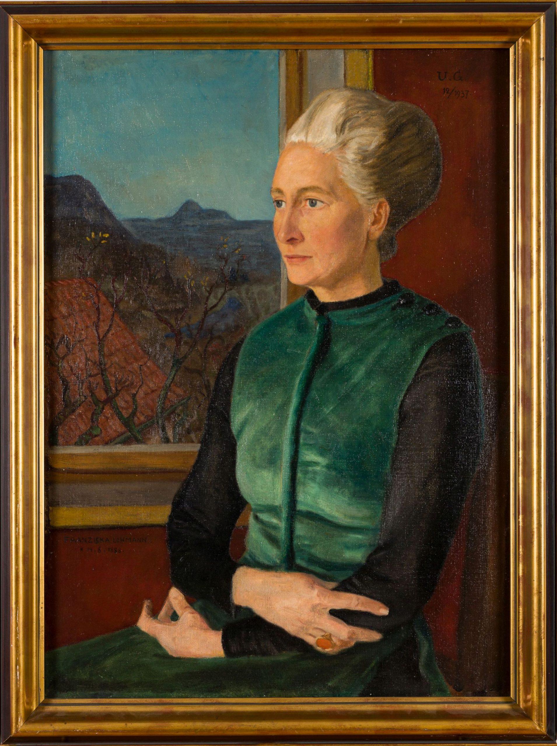 Ulrich Güssow-Portrait of Franziska Lohmann
