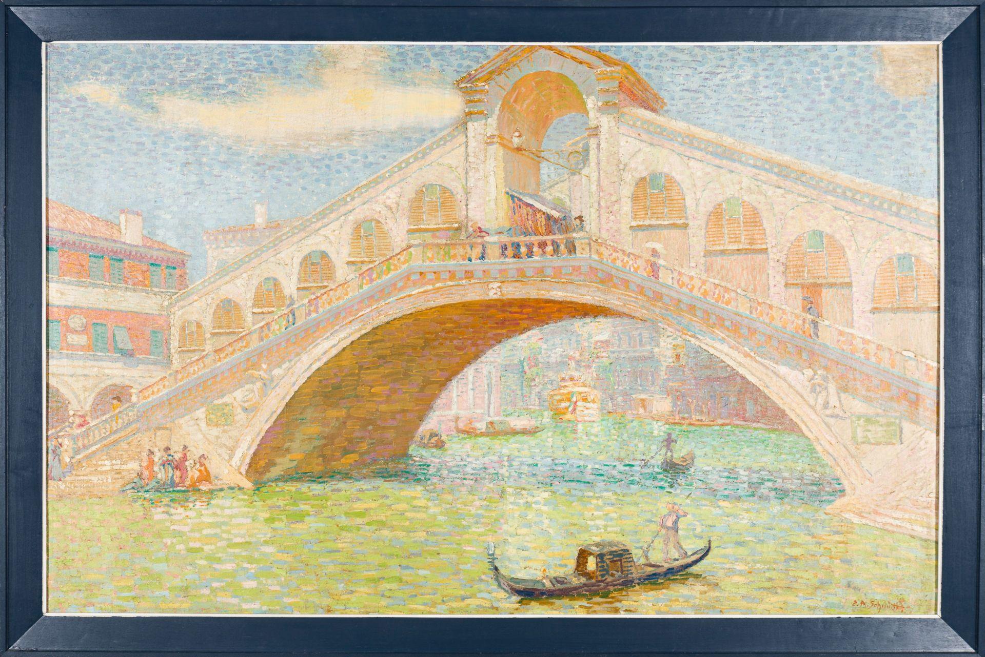 E. A. Schmitt-Rialto Bridge in Venice