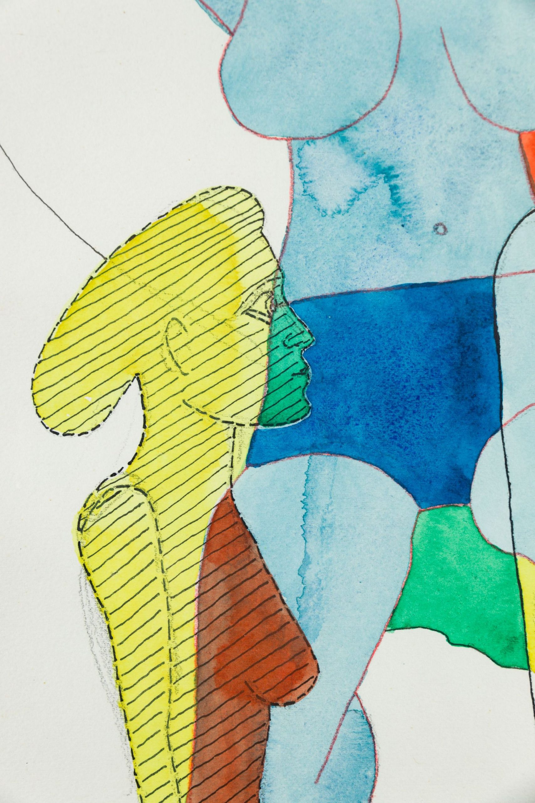 Franz Ecker-Blue torso