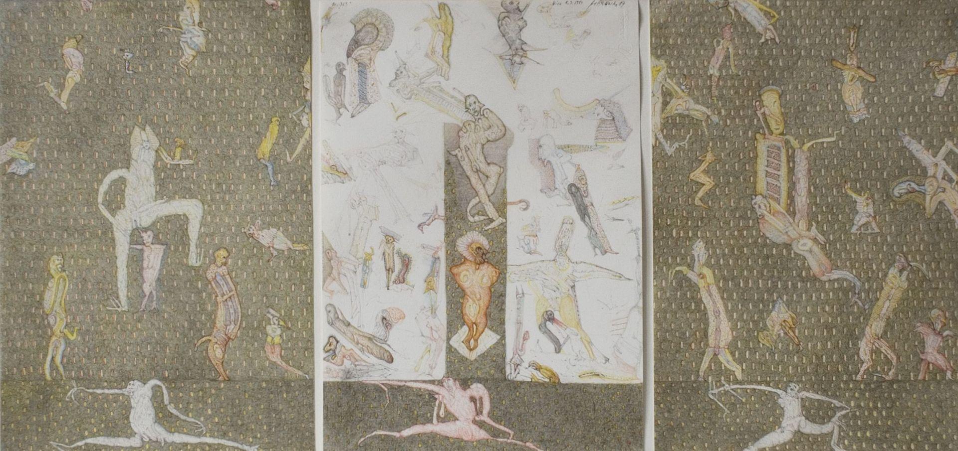 Felix Waske-No. 365 (triptych)