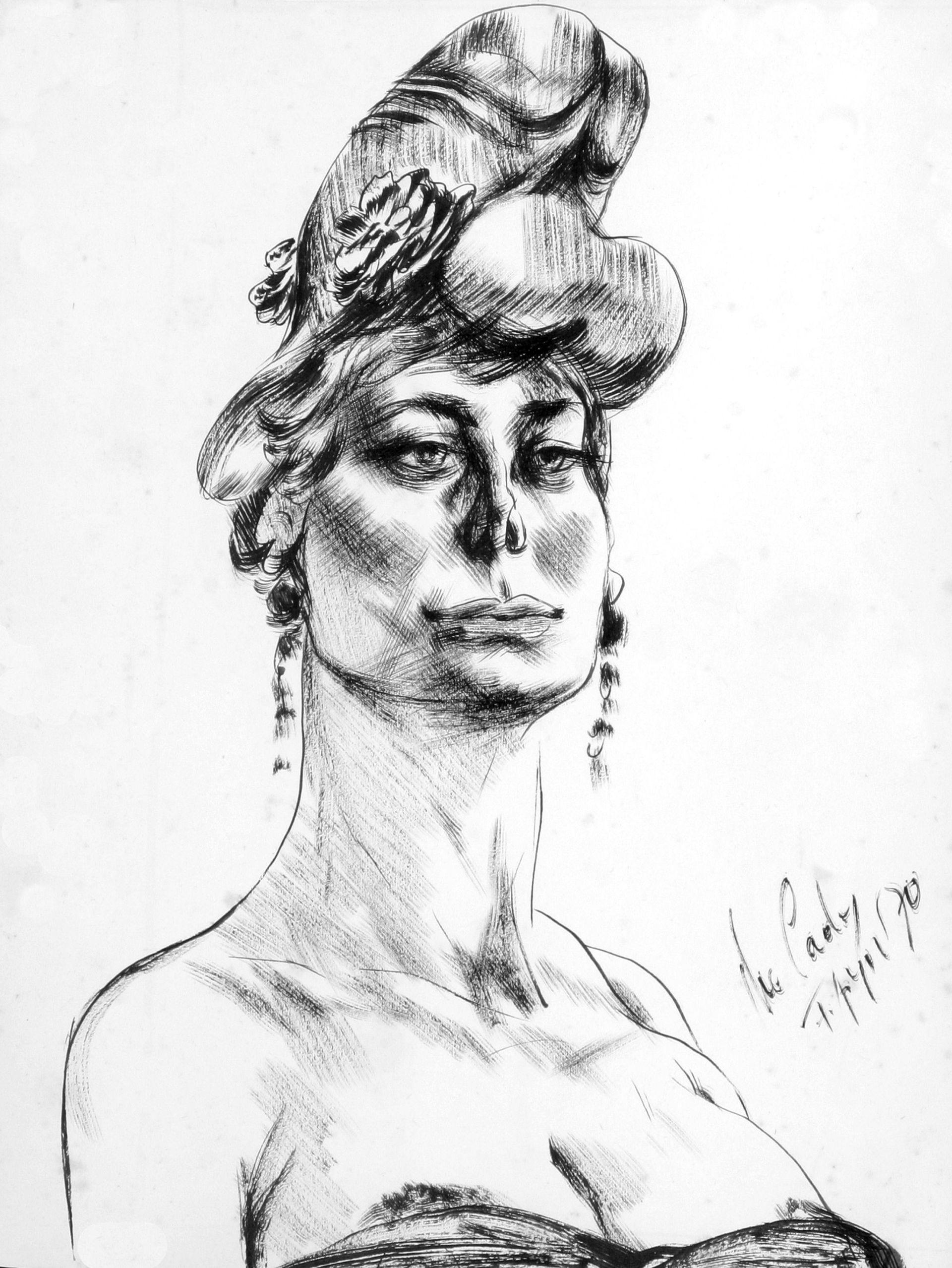 Fritz Aigner-lady