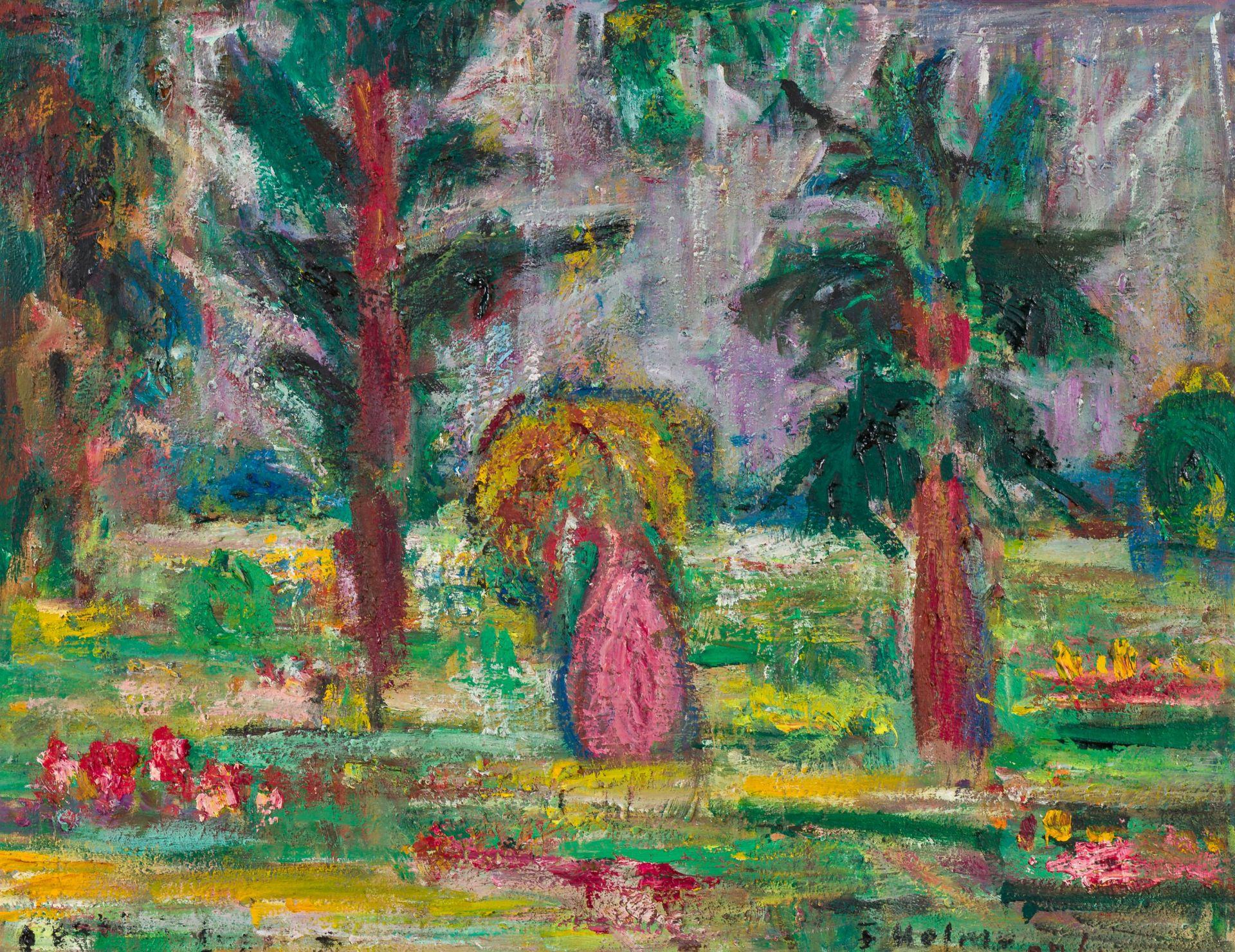 Egon Hofmann-Botanic Garden in Kandy