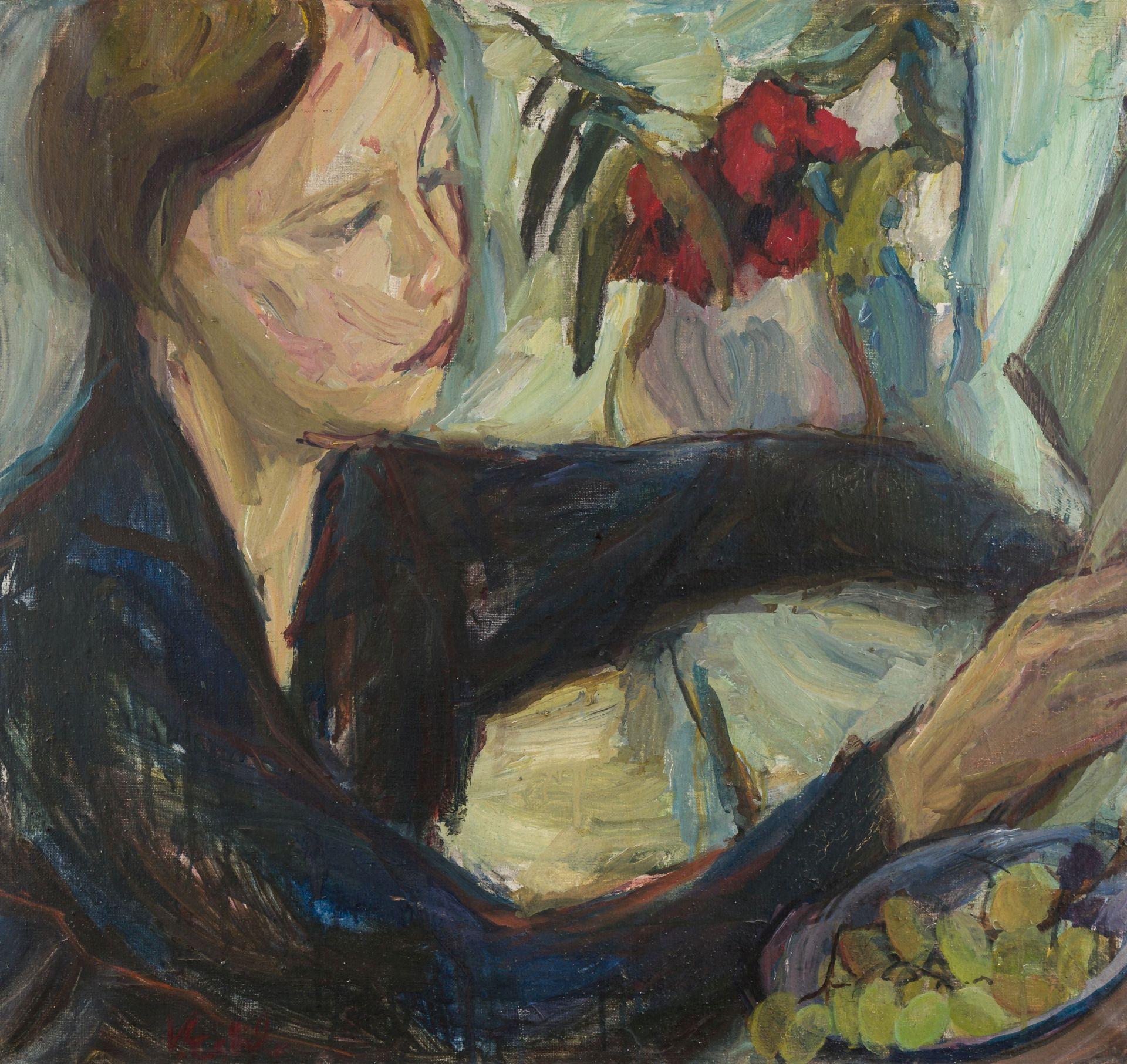 Vilma Eckl-Reading Girl