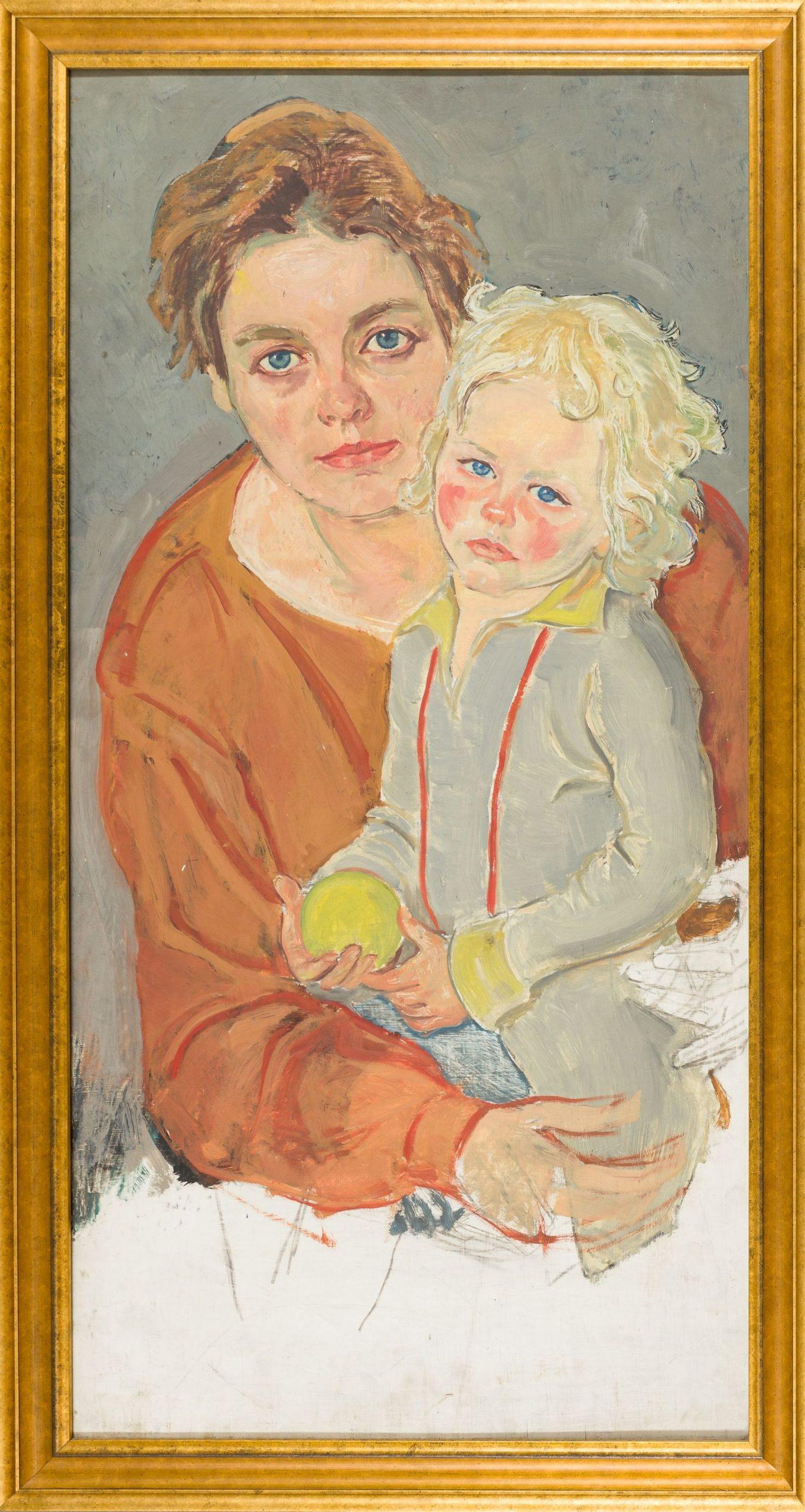 Hans Brasch-Mother with Child