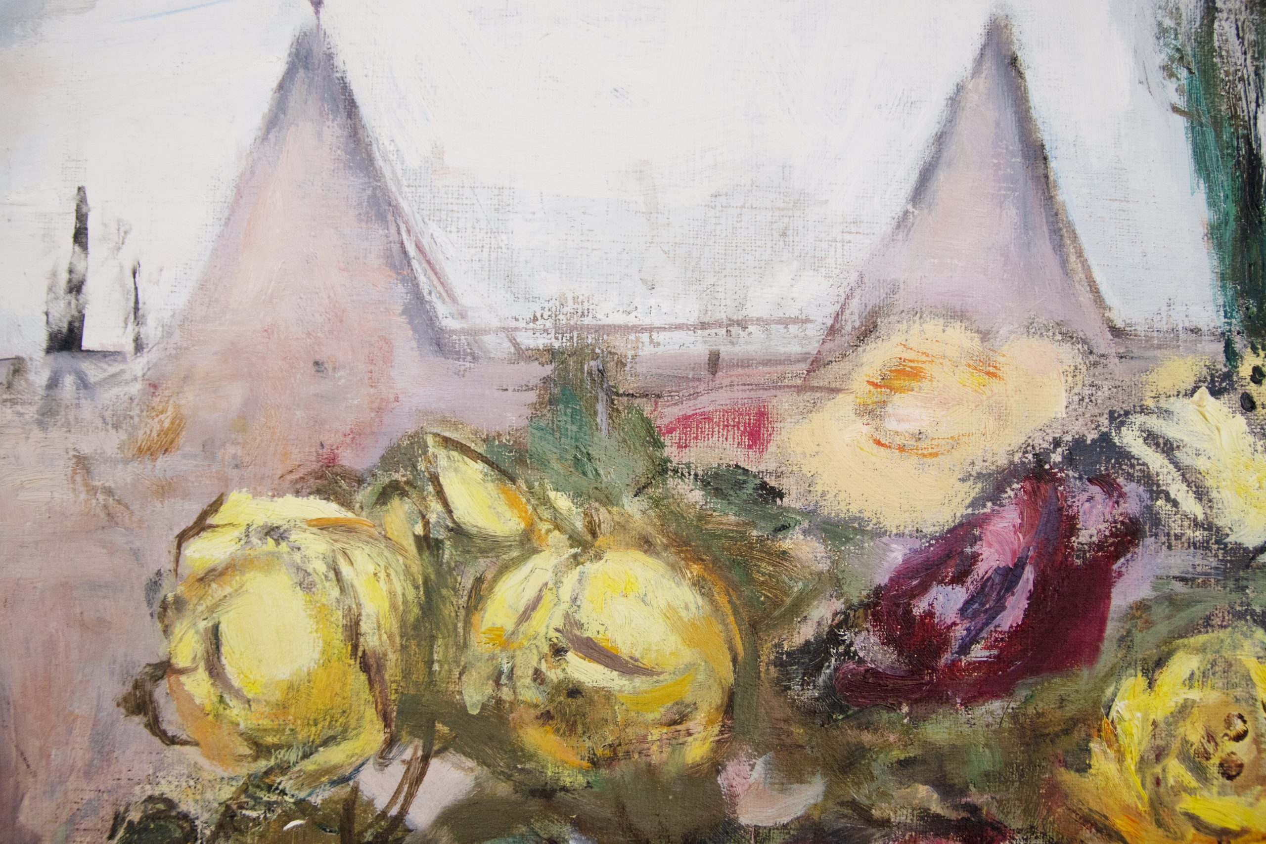 Marie-Louise von Motesiczky-View from the Window in Compayne Gardens II
