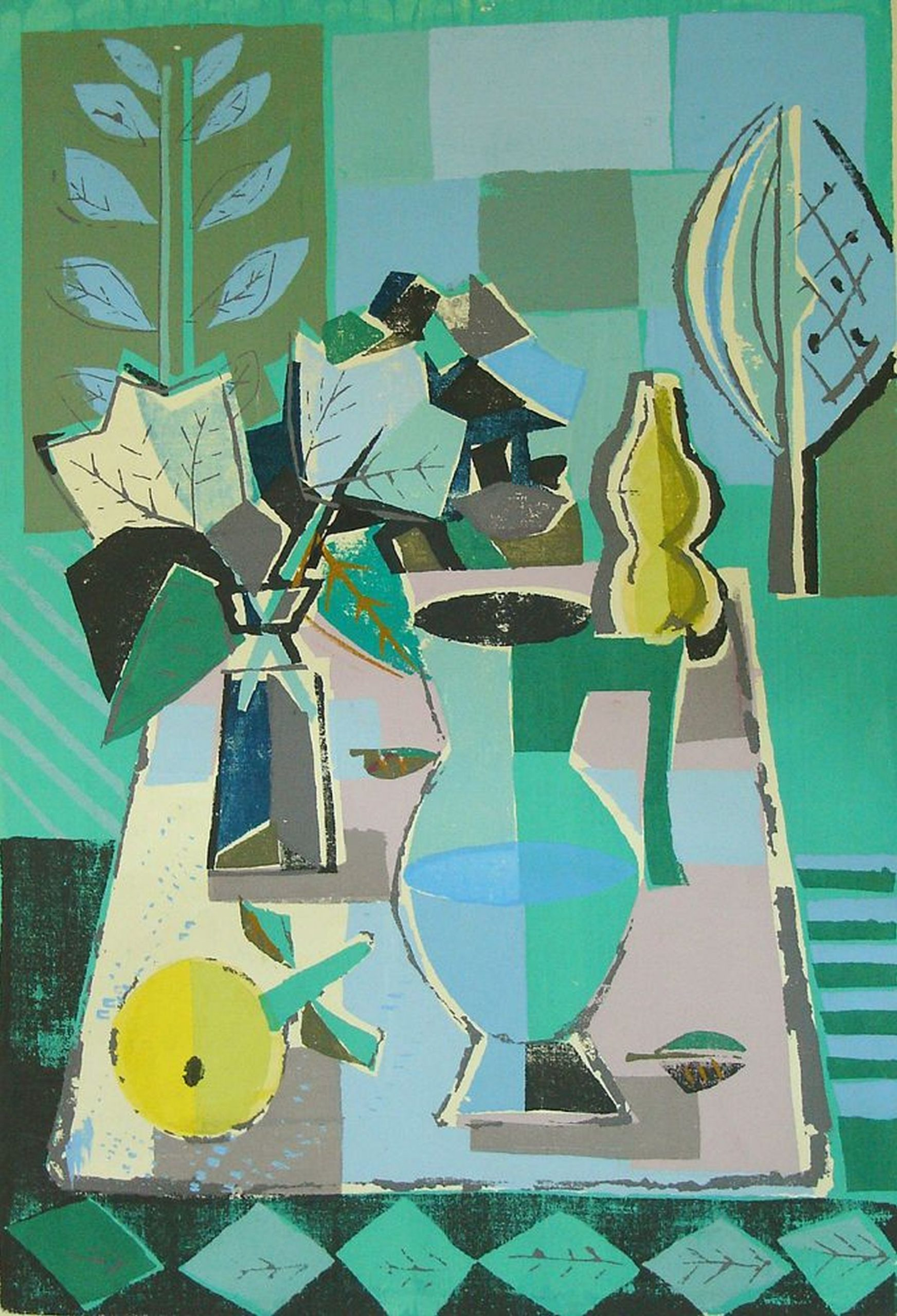 Wolf Hoffmann-Still life with a jug