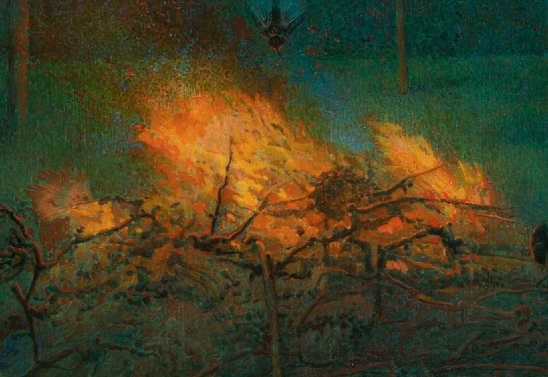Hanno Karlhuber-Fire in the Evening